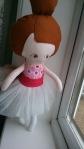 Ballerina Doll handmade by Layla Oates